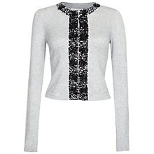 Buy Fenn Wright Manson Anna Lee Cardigan, Soft Grey Online at johnlewis.com