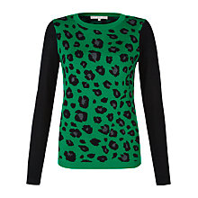 Buy Fenn Wright Manson Alyssa Jumper, Green / Black Online at johnlewis.com
