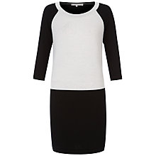 Buy Fenn Wright Manson Serena Dress, Black / White Online at johnlewis.com