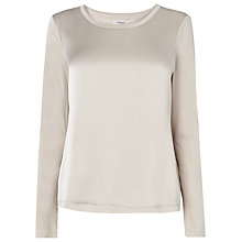 Buy L.K. Bennett Lila Top, Sandstone Online at johnlewis.com