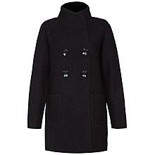 Buy Fenn Wright Manson Yasmin Coat, Black Online at johnlewis.com