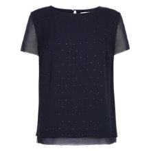Buy Fenn Wright Manson Marla Top, Blue Online at johnlewis.com