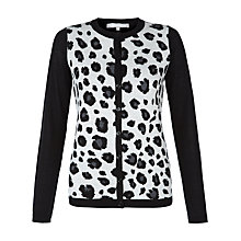 Buy Fenn Wright Manson Larissa Cardigan, Black / Soft Grey Online at johnlewis.com