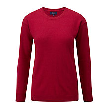 Buy Viyella Ella Cashmere Jumper, Berry Online at johnlewis.com