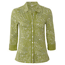 Buy White Stuff Glenko Shirt, Moss Green Online at johnlewis.com