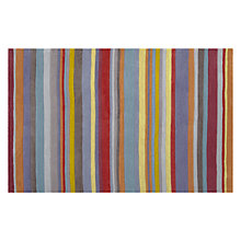 Buy John Lewis Festival Stripe Rug, Multi Online at johnlewis.com