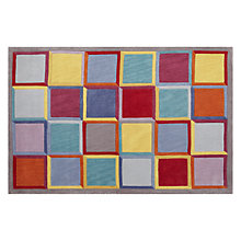 Buy John Lewis Festival Square Rug, Multi Online at johnlewis.com