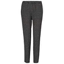Buy Phase Eight Lulu Trousers, Black/Ivory Online at johnlewis.com