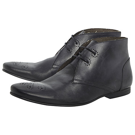 Buy Bertie Memphis Punched Toe Leather Boots Online at johnlewis.com
