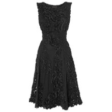 Buy Phase Eight Callula Fit and Flare Dress, Black Online at johnlewis.com