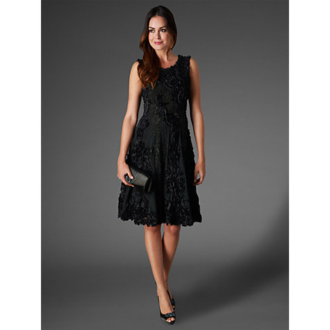 Buy Phase Eight Collection 8 Callula Fit and Flare Dress, Black Online at johnlewis.com