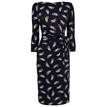 Buy Phase Eight Fancy Feather Dress, Grey Online at johnlewis.com