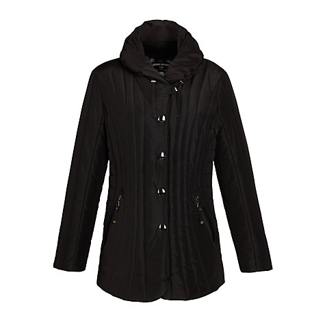 Buy Gerry Weber Shawl Collar Coat, Black Online at johnlewis.com