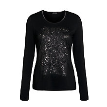 Buy Gerry Weber Applique Detail Top Online at johnlewis.com