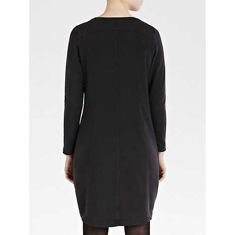Buy Sandwich Panel Jersey Dress, Nearly Black Online at johnlewis.com