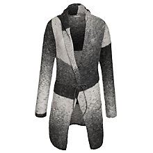 Buy Sandwich Stripe Oversize Cardigan, Slate Grey Online at johnlewis.com