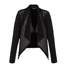 Buy Sandwich Waterfall Bobble Cardigan, Black Online at johnlewis.com