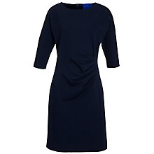 Buy Winser London Round Neck Miracle Dress, Midnight Navy Online at johnlewis.com