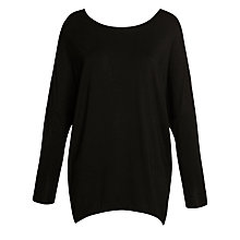Buy Winser Tunic Top, Black Online at johnlewis.com