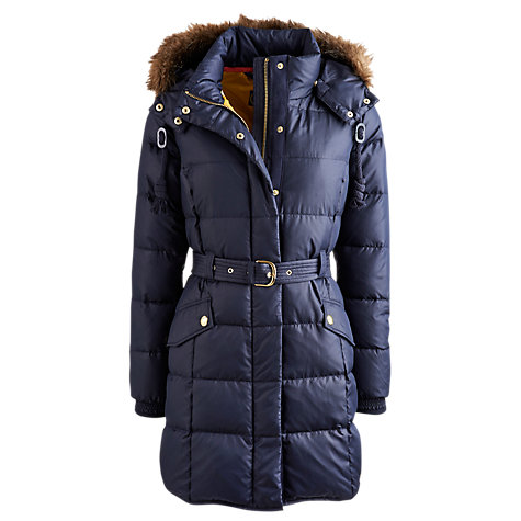 Buy Joules Belmont Padded Jacket, Marine Online at johnlewis.com