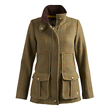 Buy Joules Tweed Fieldcoat Jacket, Toadway Green Online at johnlewis.com