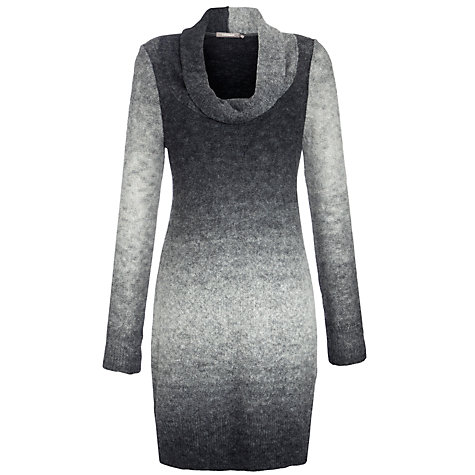 Buy Sandwich Stripe Cowl Neck Jumper Dress, Slate Grey Online at johnlewis.com