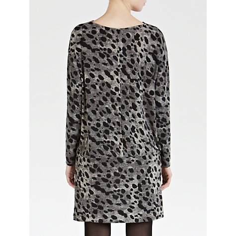 Buy Sandwich Painted Dot Cowl Knit Dress, Slate Grey Online at johnlewis.com