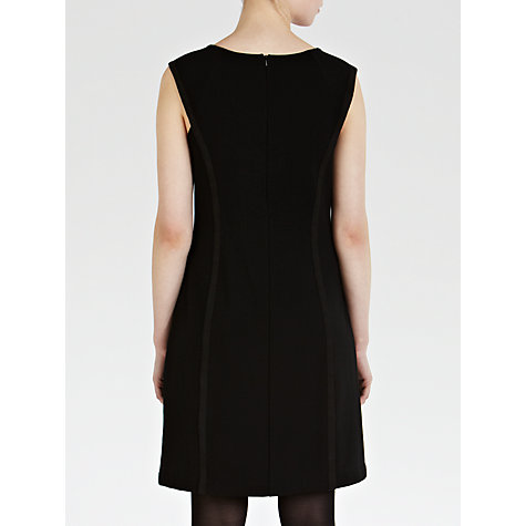 Buy Sandwich Panel Sleeveless Dress, Black Online at johnlewis.com