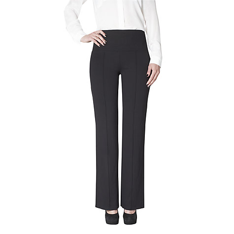 Buy Lysse Leggings Ponte Wide Leg Leggings, Navy Online at johnlewis.com