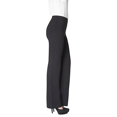 Buy Lyssé Leggings Ponte Wide Leg Leggings, Black Online at johnlewis.com
