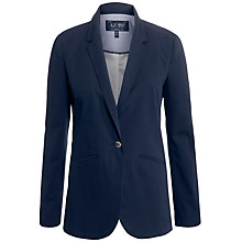 Buy Armani Jeans Boyfriend Blazer, Navy Online at johnlewis.com