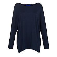 Buy Winser Jersey Wrap Top, Light Midnight Online at johnlewis.com