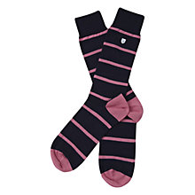 Buy Barbour Barrasford Stripe Socks Online at johnlewis.com