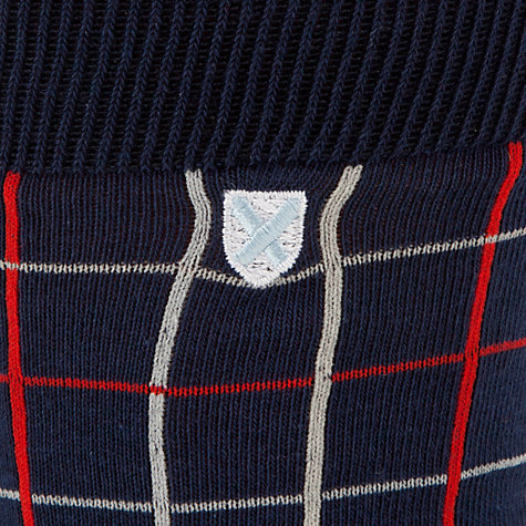 Buy Barbour Cowgate Tattersall Socks Online at johnlewis.com