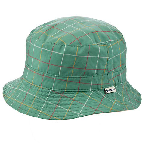 Buy Barbour Tattersall Reverse Hat Online at johnlewis.com