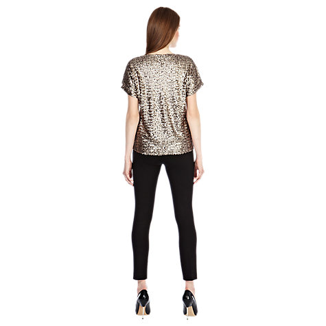 Buy Coast Ginevie Top, Bronze Online at johnlewis.com