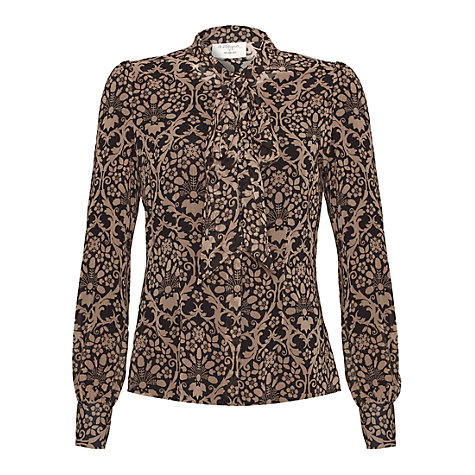 Buy allegra by Allegra Hicks Natalie Blouse, Floral Baroque Online at johnlewis.com