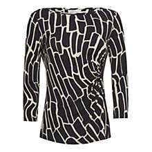 Buy allegra by Allegra Hicks Giraffe Layla Top, Black Online at johnlewis.com