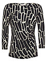 allegra by Allegra Hicks Giraffe Layla Top, Black
