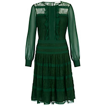 Buy Fenn Wright Manson Ivonne Dress, Forest Green Online at johnlewis.com