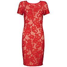 Buy Fenn Wright Manson Phoebe Dress, Pillarbox Red Online at johnlewis.com