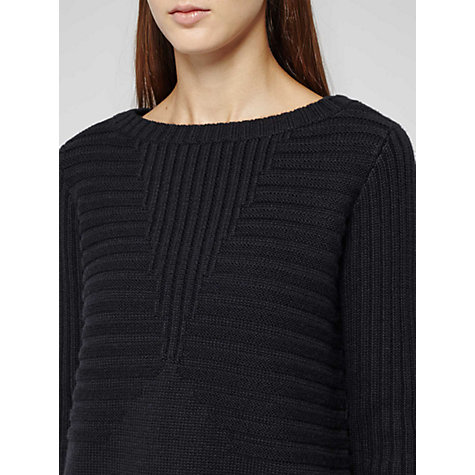 Buy Reiss 1971 Dover Heavy Knit Jumper, Navy Online at johnlewis.com
