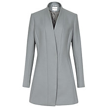 Buy Reiss Delaney Fitted Coat, Grey Online at johnlewis.com