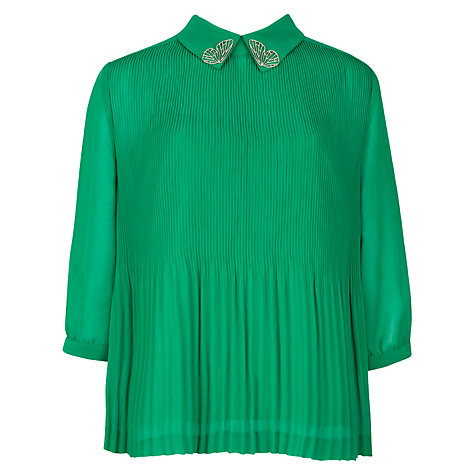 Buy Ted Baker Diemos Pleat Top Online at johnlewis.com