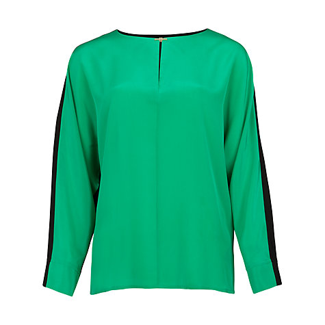 Buy Ted Baker Tonee Bat Wing Top, Green Online at johnlewis.com