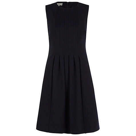 Buy Hobbs Hay Dress, Navy Online at johnlewis.com