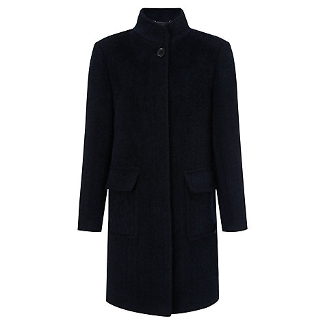 Buy Four Seasons Patch Pocket Coat, Midnight Online at johnlewis.com