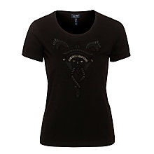 Buy Armani Jeans Applique Detail T-shirt Online at johnlewis.com