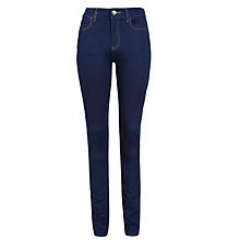 Buy Armani Jeans High Rise Skinny Jeans, Blue Online at johnlewis.com