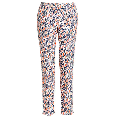 Buy Armani Jeans Print Trousers, Blue Online at johnlewis.com